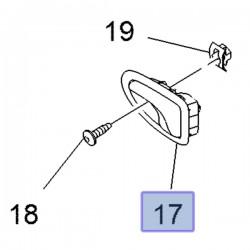 Klamka wewnętrzna drzwi tylnych 93859062 (Vivaro A, B)