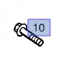 Śruba tylnego drążka stabilizatora 94012053 (Frontera)