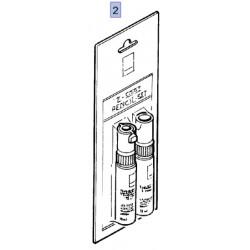 Lakier zaprawkowy 95599210 FLIP CHIP SILVER kod lakieru OP-189