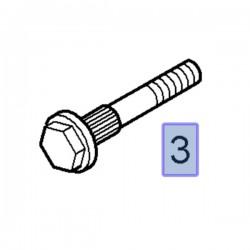 Śruba amortyzatora przedniego 93458092 (Movano B, Vivaro A, B)