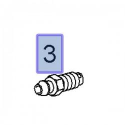 Odpowietrznik zacisku 93176431 (Adam, Astra G, H, Combo E, Corsa C, D, E, Grandland X, Meriva A, B, Zafira B)