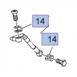 Uszczelka przewodu olejowego 55587292 (Astra J, Cascada, Insignia A, Zafira C)