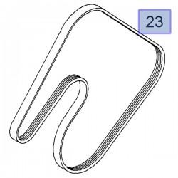 Pasek klinowy, wielorowkowy 93182241 (Agila A, Astra G, H, Corsa B, C, D, Meriva A)