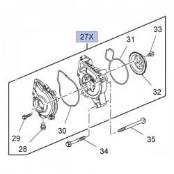 Pompa wody 2.0, 2.2, 2.4 12630084 (Astra H, J, Insignia A, Zafira B)