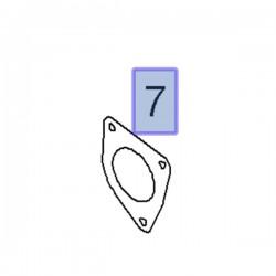 Uszczelka kolektora ssącego 55205453 (Astra H, Signum, Vectra C, Zafira B)