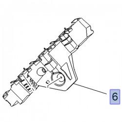 Ślizg, wspornik tylnego zderzaka prawy 13478132 (Crossland X)