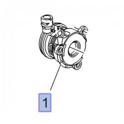 Wysprzęglik, łożysko oporowe 55498116 (Adam, Astra K, Corsa E)