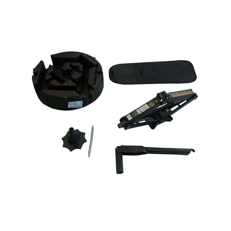 Zestaw narzędzi podnośnik z lewarkiem i kluczem 95408455 (Astra J)