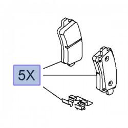 Klocki hamulcowe tylne 95515497 (Insignia A)