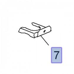 Blokada przewodu hamulcowego 13171816 (Adam, Corsa D, E)
