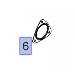 Uszczelka rury wydechowej 55187592 (Astra H, J, Insignia A, Signum, Vectra C, Zafira B)