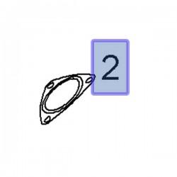 Uszczelka rury wydechowej 13255812 (Astra J, Corsa D, E, Insignia A, Zafira C)
