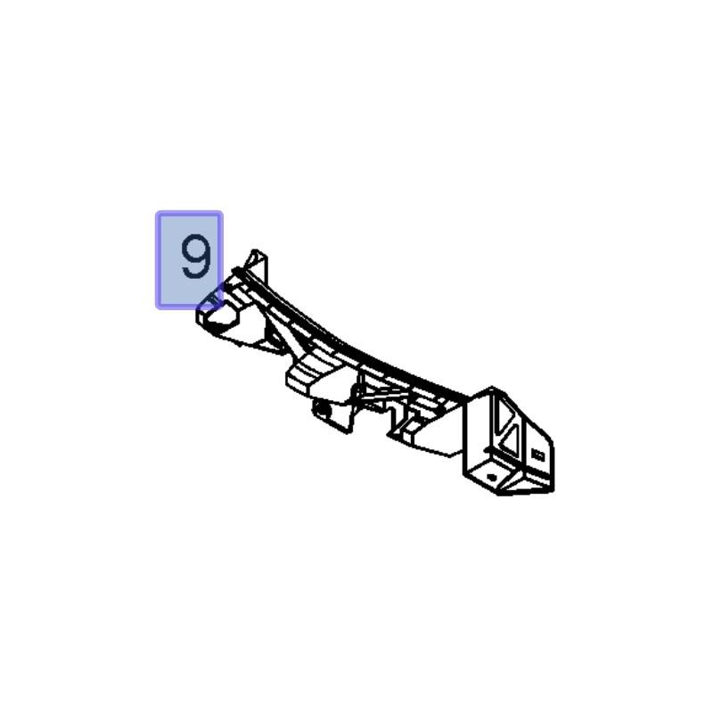 Wspornik absorbera 13450164 (Zafira B)
