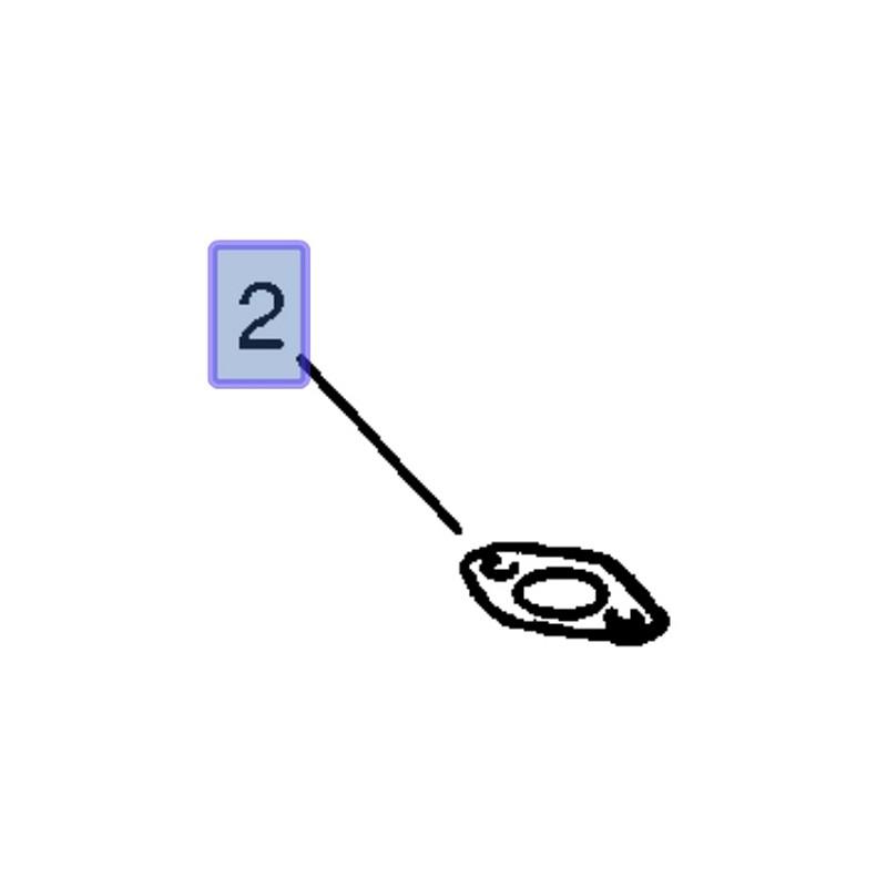 Uszczelka smoka pompy oleju 90190637 (Astra Classic, F, G, H, Corsa A, B, C, D, Meriva A , Vectra A, B, C, Zafira B)