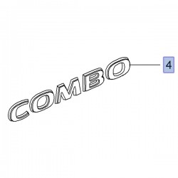 Napis tylny COMBO 95513012 (Combo D)