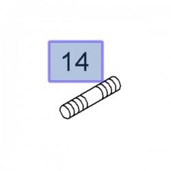 Szpilka, pręt, kolektora wydechowego 91167475 (Movano A, B, Vivaro A, B)