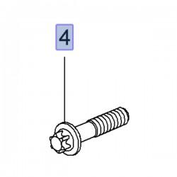 Śruba TORX koła pasowego 55187537 (Agila A, B, Astra H, J, Combo D, Corsa C, D, E, Meriva A, B, Tigra B)