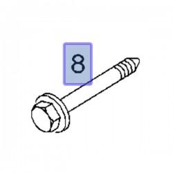 Śruba wahacza przedniego 11101871 (Corsa C, Meriva A, Tigra B)