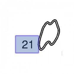 Uszczelka obudowy termostatu 9157004 (Astra F, G, H, Calibra, Frontera, Omega B, Vectra A, B, Zafira A, B)