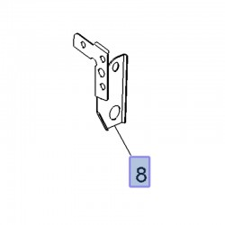 Wspornik podłużnicy prawej 13487349 (Astra K)