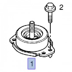 Poduszka silnika, prawa 2.5, 2.8 9111350 (Movano A)