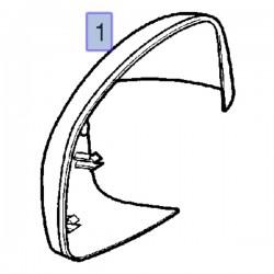 Osłona lusterka zewnętrznego 24440263 (Signum, Vectra C)