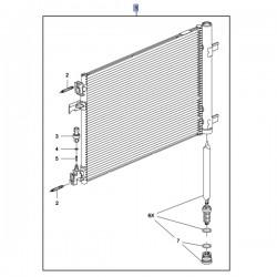 Skraplacz, chłodnica klimatyzacji 39140127 (Astra J, Zafira C)