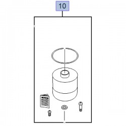 Filtr paliwa, wkład 95519313 (Movano B, Vivaro B)
