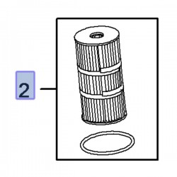Filtr oleju, wkład 95523613 (Movano B, Vivaro A, B)