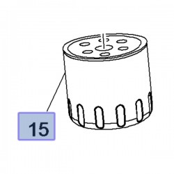 Filtr oleju silnika 3647177 (Combo E, Crossland X, Grandland X)