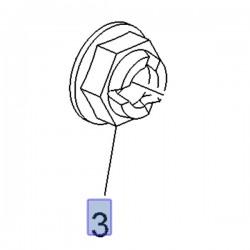 Nakrętka piasty koła 13208079 (Adam, Ampera, Astra H, J, K, Corsa D, E, Zafira B)