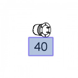Uszczelka wtryskiwacza 97376304 (Astra H, J, Corsa D, Meriva A, B, Mokka,Zafira B)