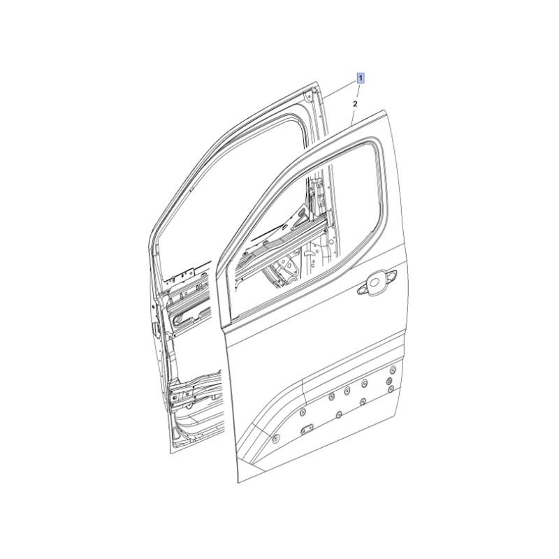 Drzwi przednie prawe 3556464 (Combo E)