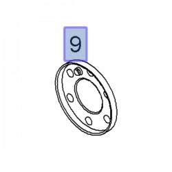 Flansza magnetyczna czujnika obrotów wału 55574780 (Astra H, Corsa D, Insignia A, Meriva A, Signum, Vectra C, Zafira B, C)