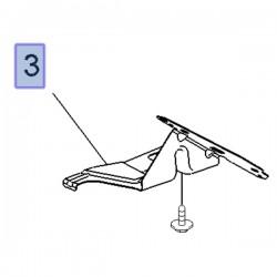 Wspornik błotnika przedniego, prawy 3647242 (Grandland X)