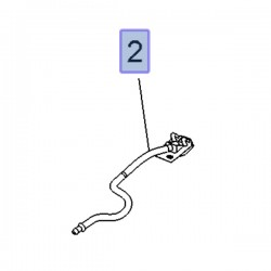 Wąż spryskiwacza szyby przedniej 3647207 (Grandland X)