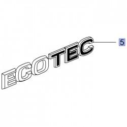 Napis tylny ECOTEC 95527242 (Grandland X)