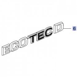 Napis tylny ECOTEC D 95527243 (Grandland X)