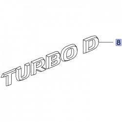 Napis tylny TURBO D 95527241 (Grandland X)