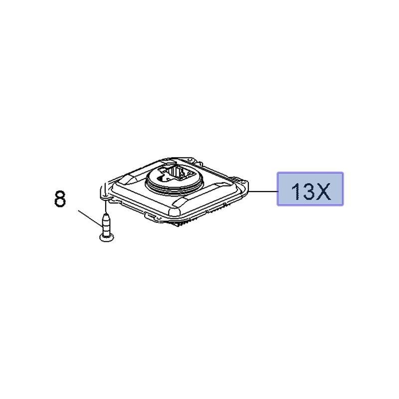 Układ sterujący lampy 3551932 (Grandland X)