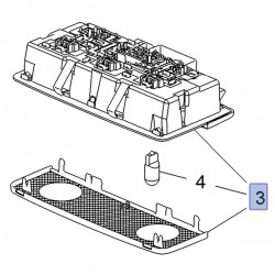 Lampka środkowa podsufitki 95526503 (Grandland X)