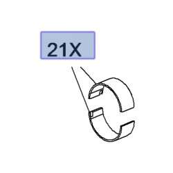 Panewki korbowodowe 12674806 (Adam, Astra K, Corsa E, Insignia B, Karl, Mokka)