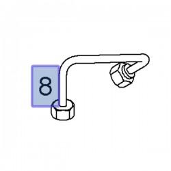 Przewód wtryskiwacza 93198007 (Movano A, Vivaro A)