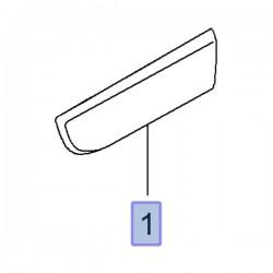 Listwa boczna, lewa 93197636 (Movano B)