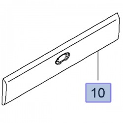 Listwa prawa tylna nadwozia, lewa 93197647 (Movano B)