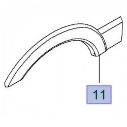Listwa prawa tylna nadwozia, lewa 95507015 (Movano B)