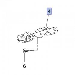 Wspornik rączki, uchwytu podsufitki 39116099 (Adam, Corsa E, Crossland X)