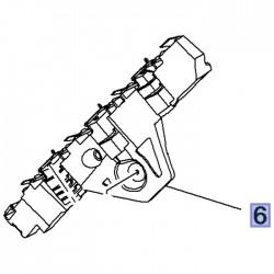 Ślizg, wspornik tylnego zderzaka lewy 13478130 (Crossland X)
