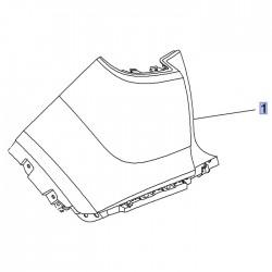 Zderzak tylny górny, lewy 39097387 (Crossland X)