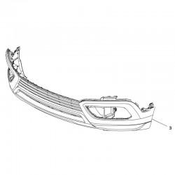 Zderzak przedni dolny 39099495 (Crossland X)